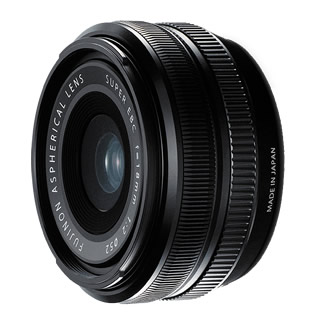 Fuji 18mm f2 R Fujinon Black Lens