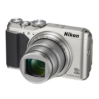 Nikon Coolpix S9900 Digital Camera - Silver